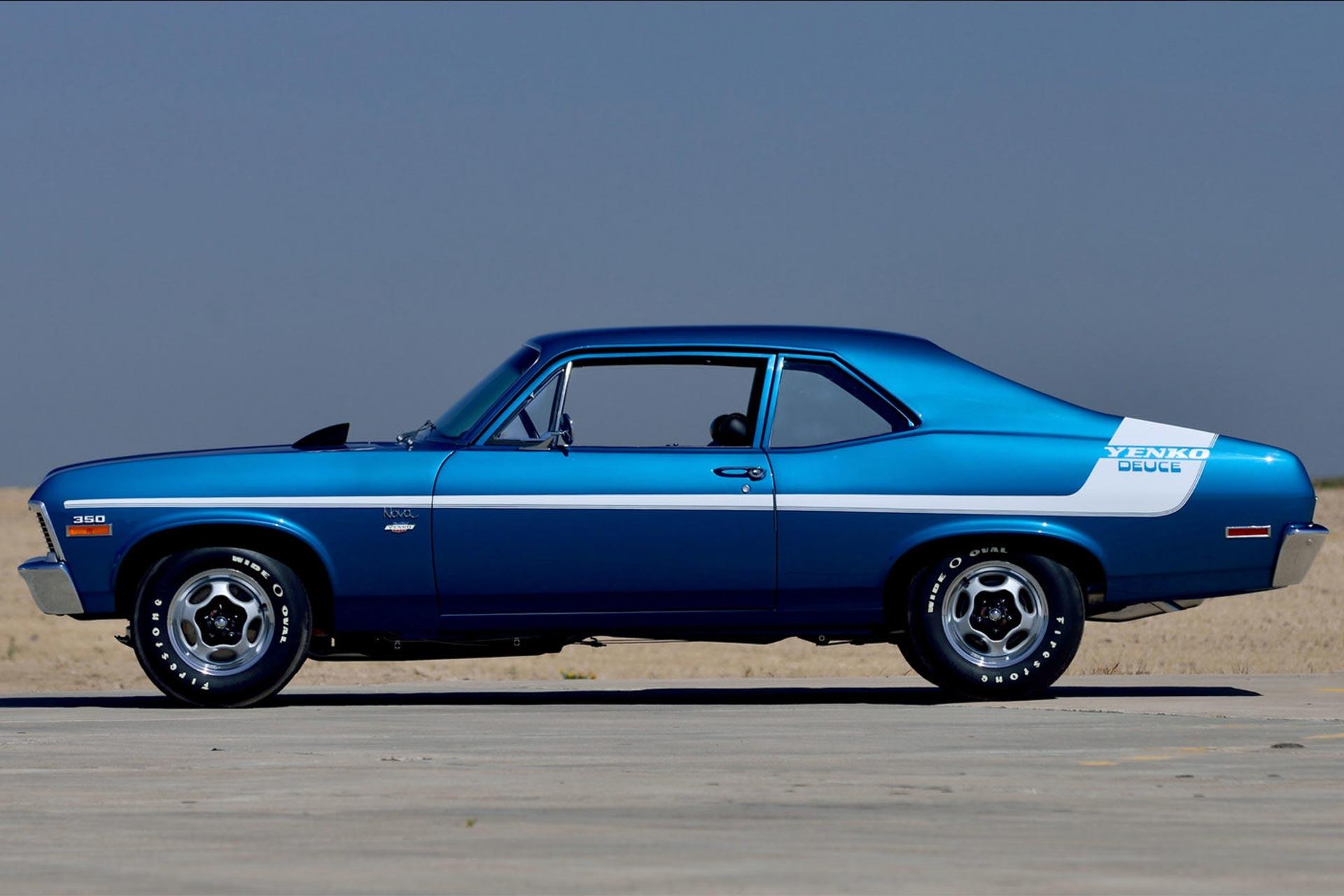 1970 Yenko Deuce Nova parked