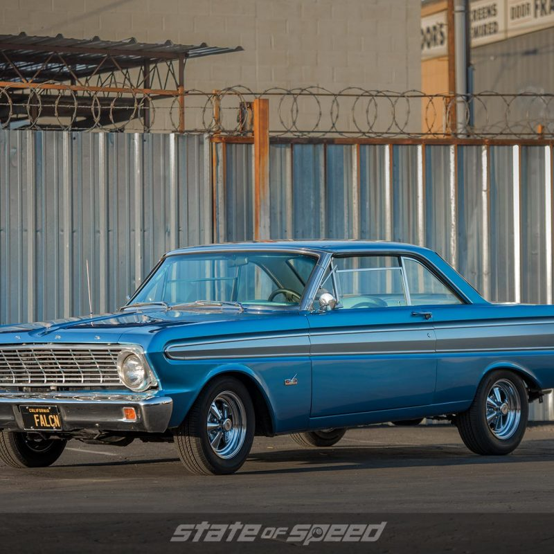 1964 Ford Falcon Futura with Milestar MS 70 All-Season tires from shelby american collection