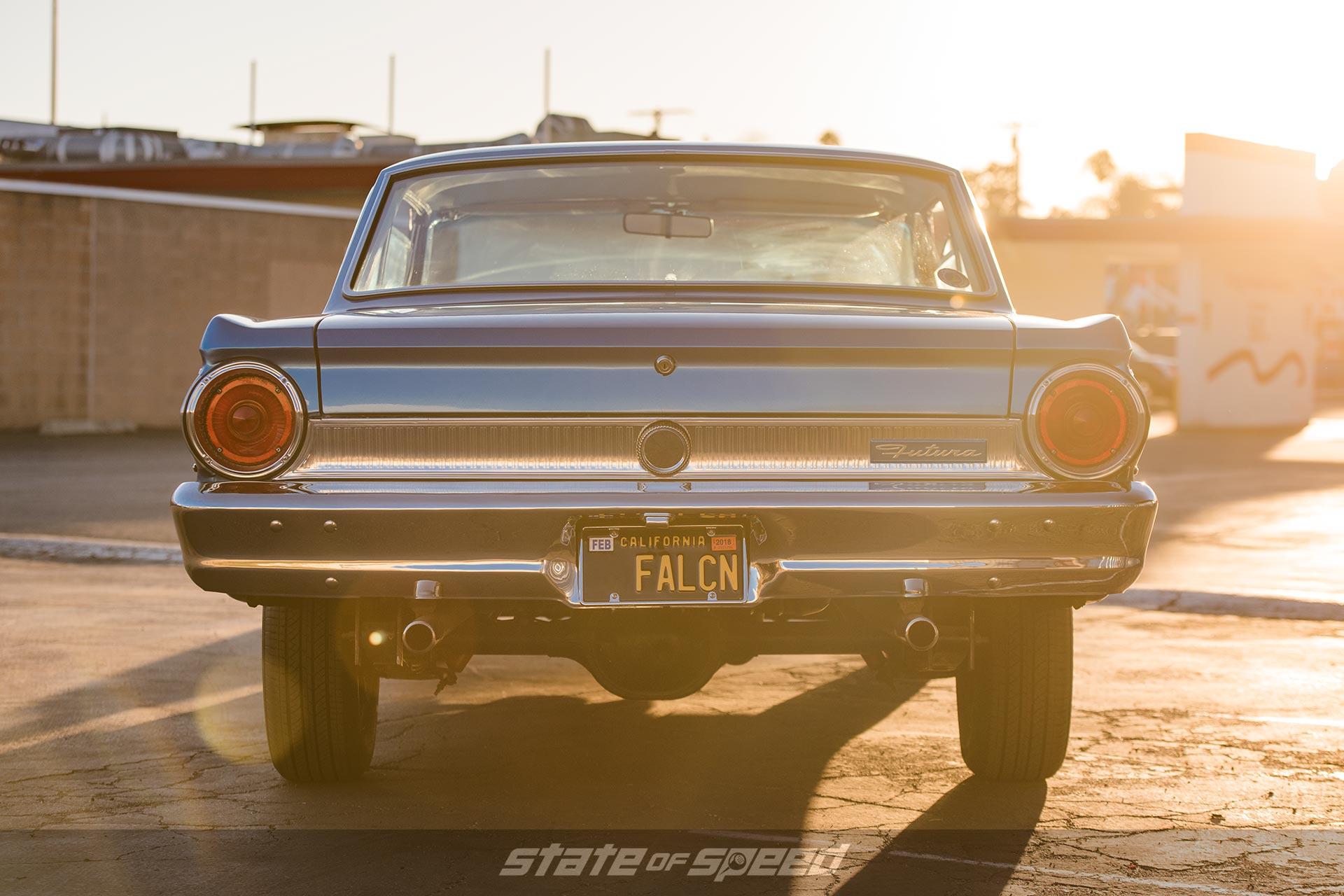 1964 Ford Falcon Sprint Convertible rear