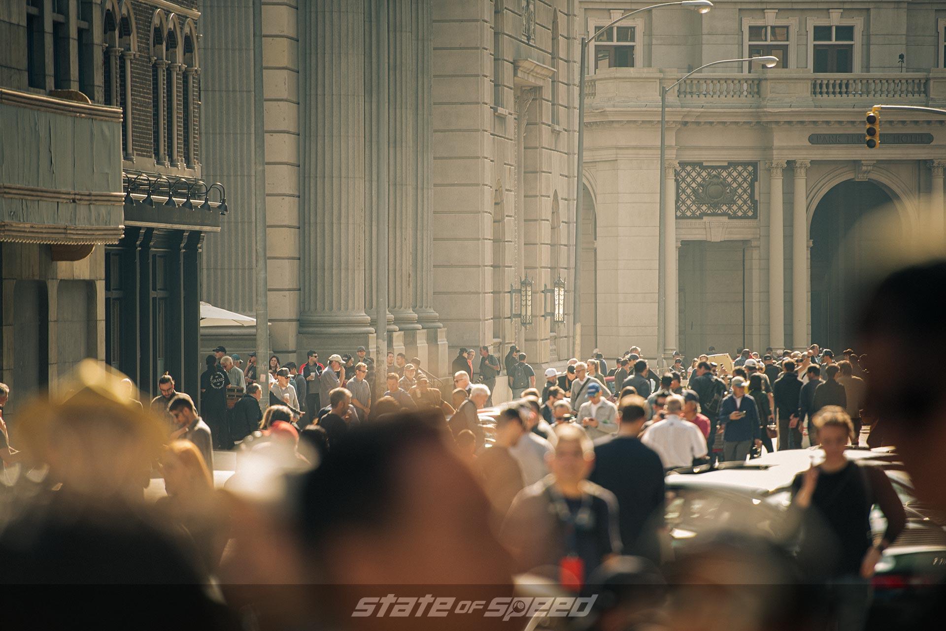 Crowds in Universal Studios