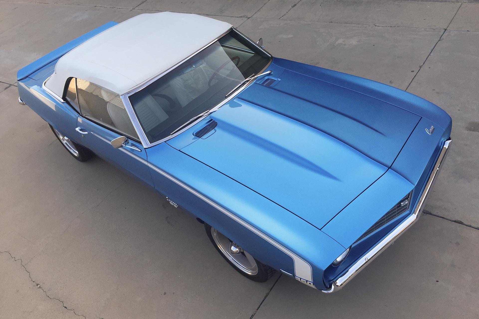 Blue Challenger drop top