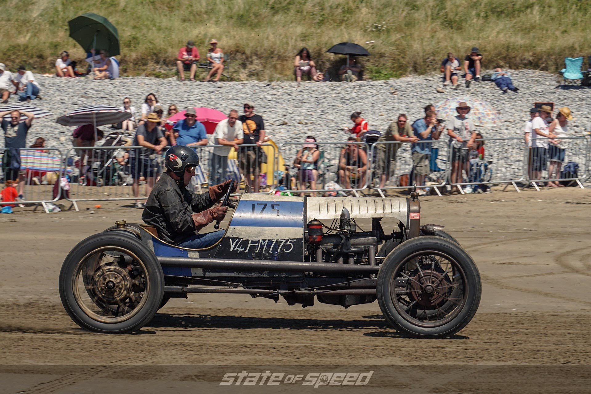 Model T Hot Rod in the dirt