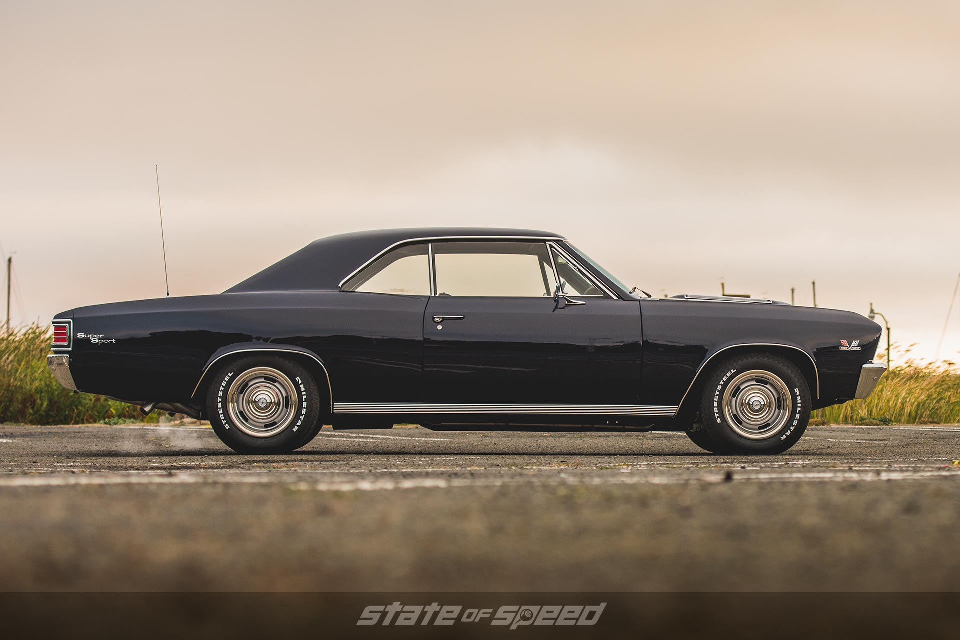Clean 1967 Chevy Chevelle SS side view