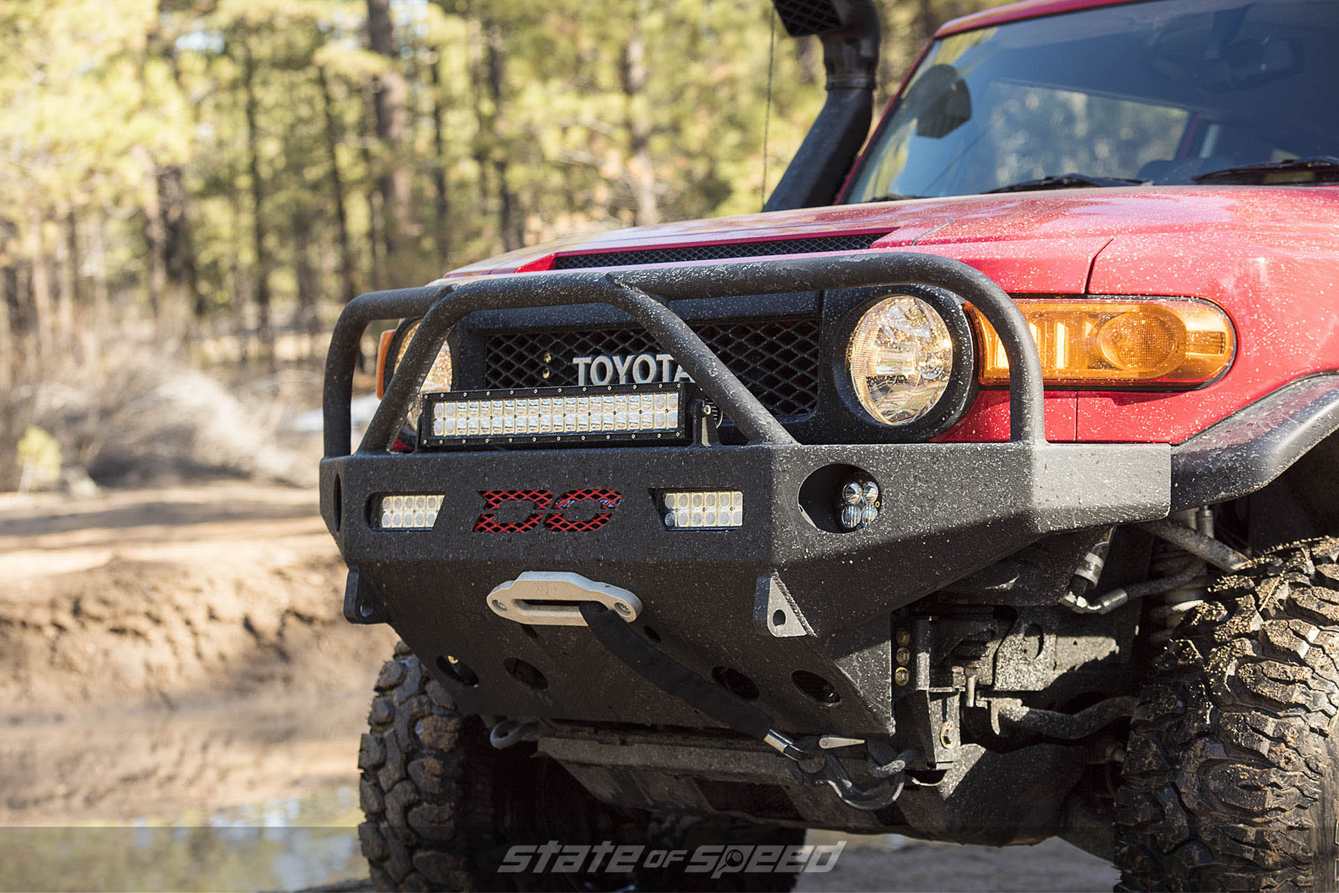 Milestar Patagonia M/Ts on Toyota FJ Cruiser with Off-Road Mods