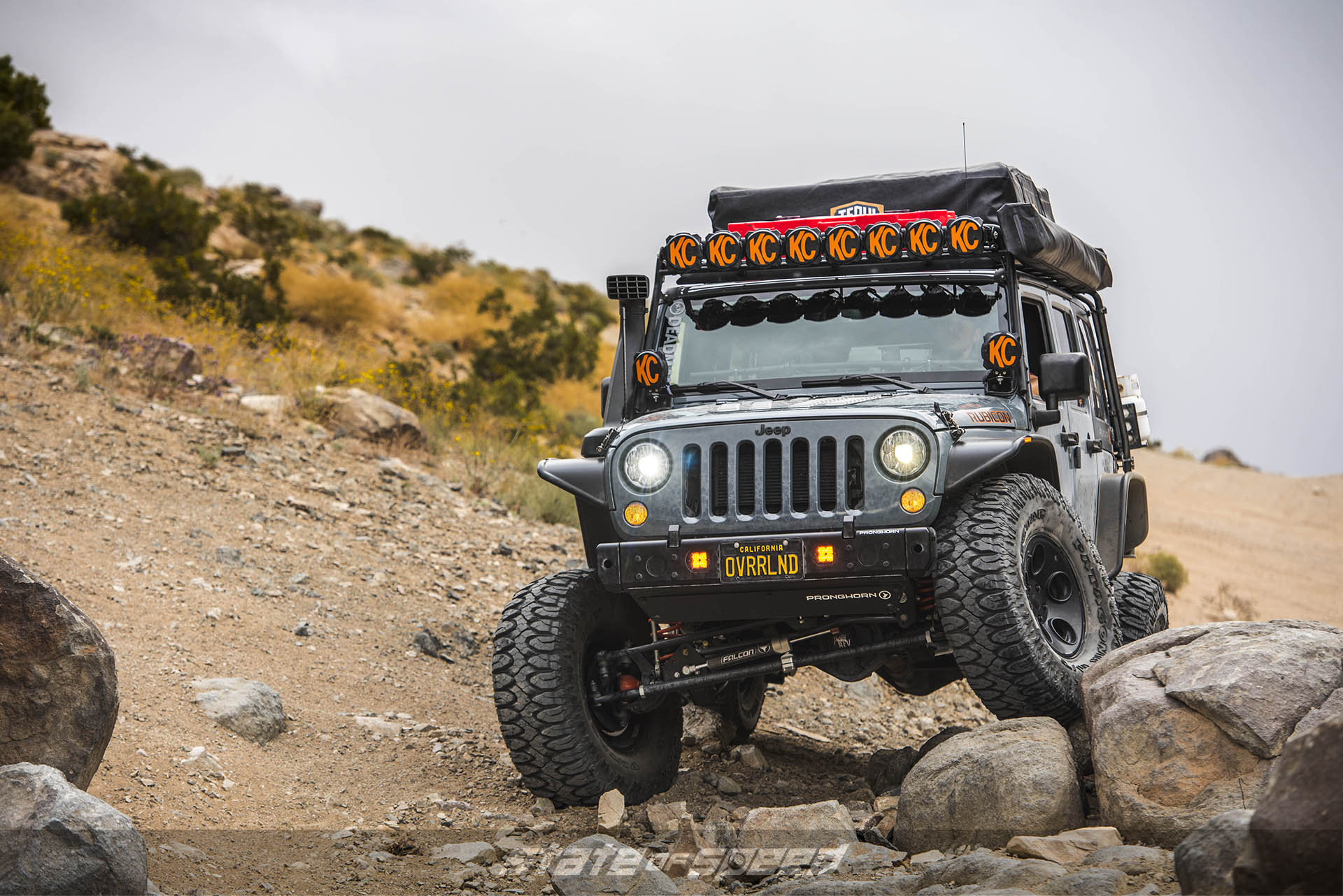 Milestar Patagonia M/Ts on Jeep JK with Off-Road Mods