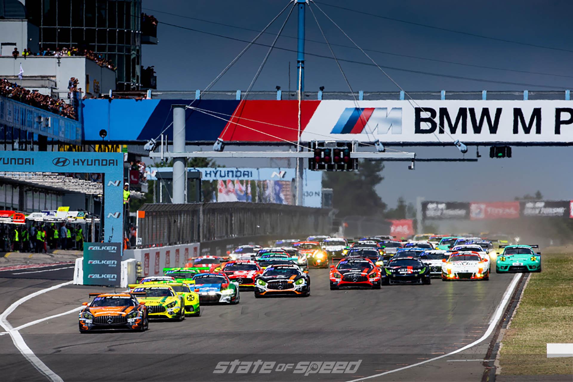 Starting Line at the Nurburgring