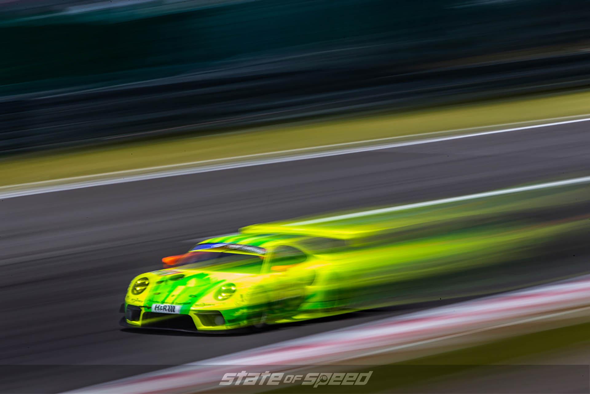 Porsche racing at Nurburgring