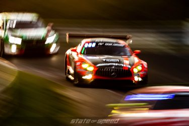 Mercedes AMG racing at Nurburgring