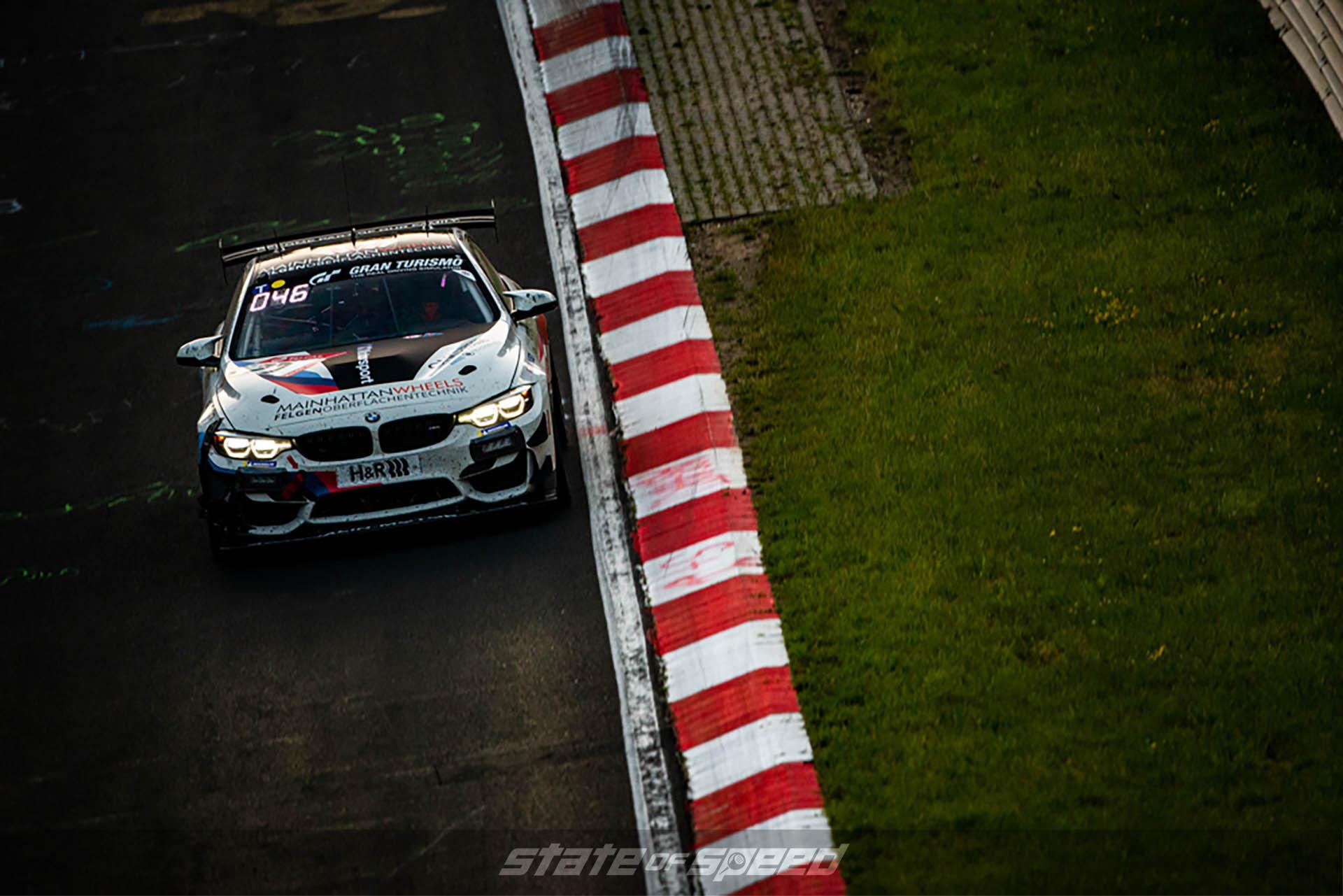 BMW racing at the Nurburgring