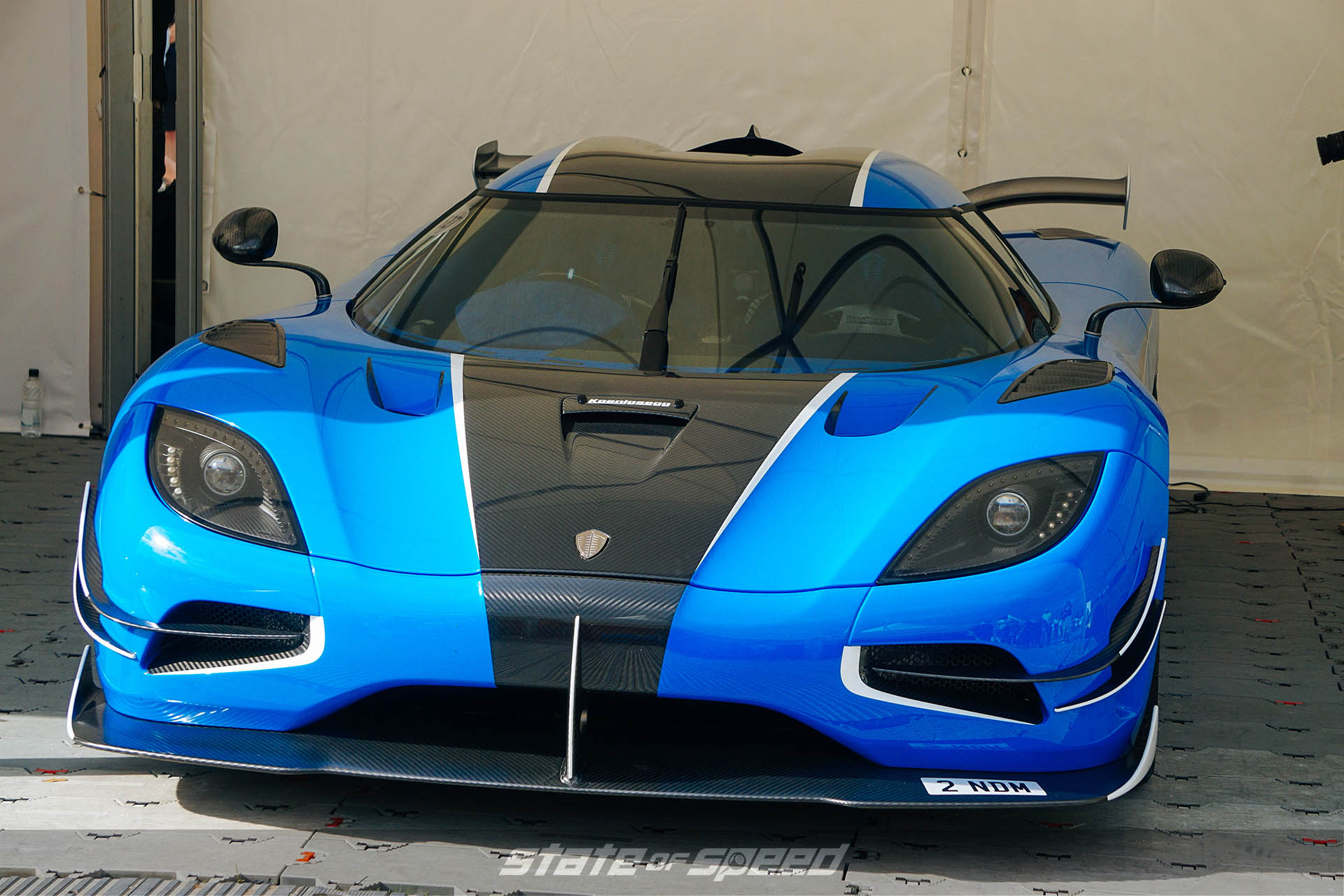 Koenigsegg Agera at Goodwood festival of speed