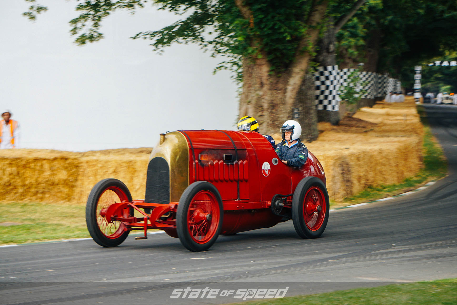Beast of Turin at goodwood festival of speed