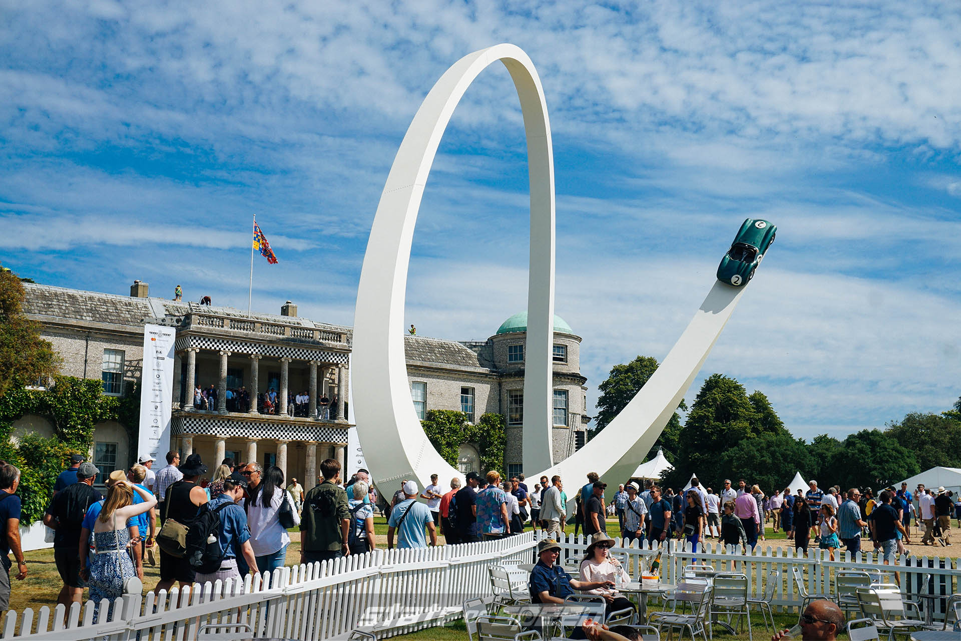 Crowd at goodwood festival of speed