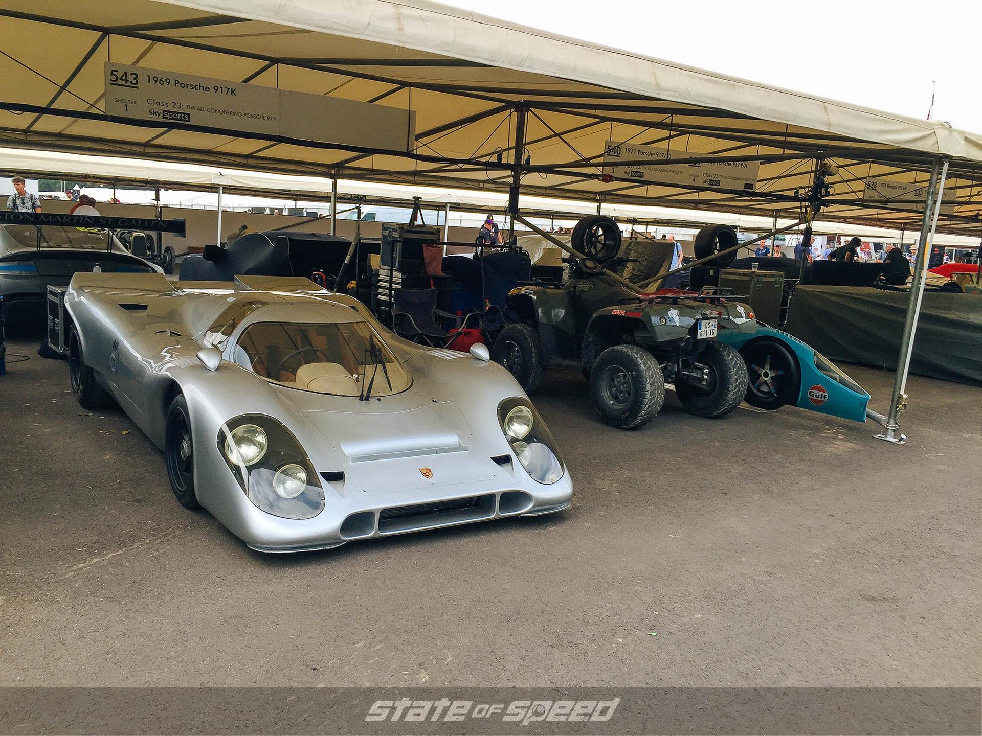 Porsche 917 at Goodwood festival of speed