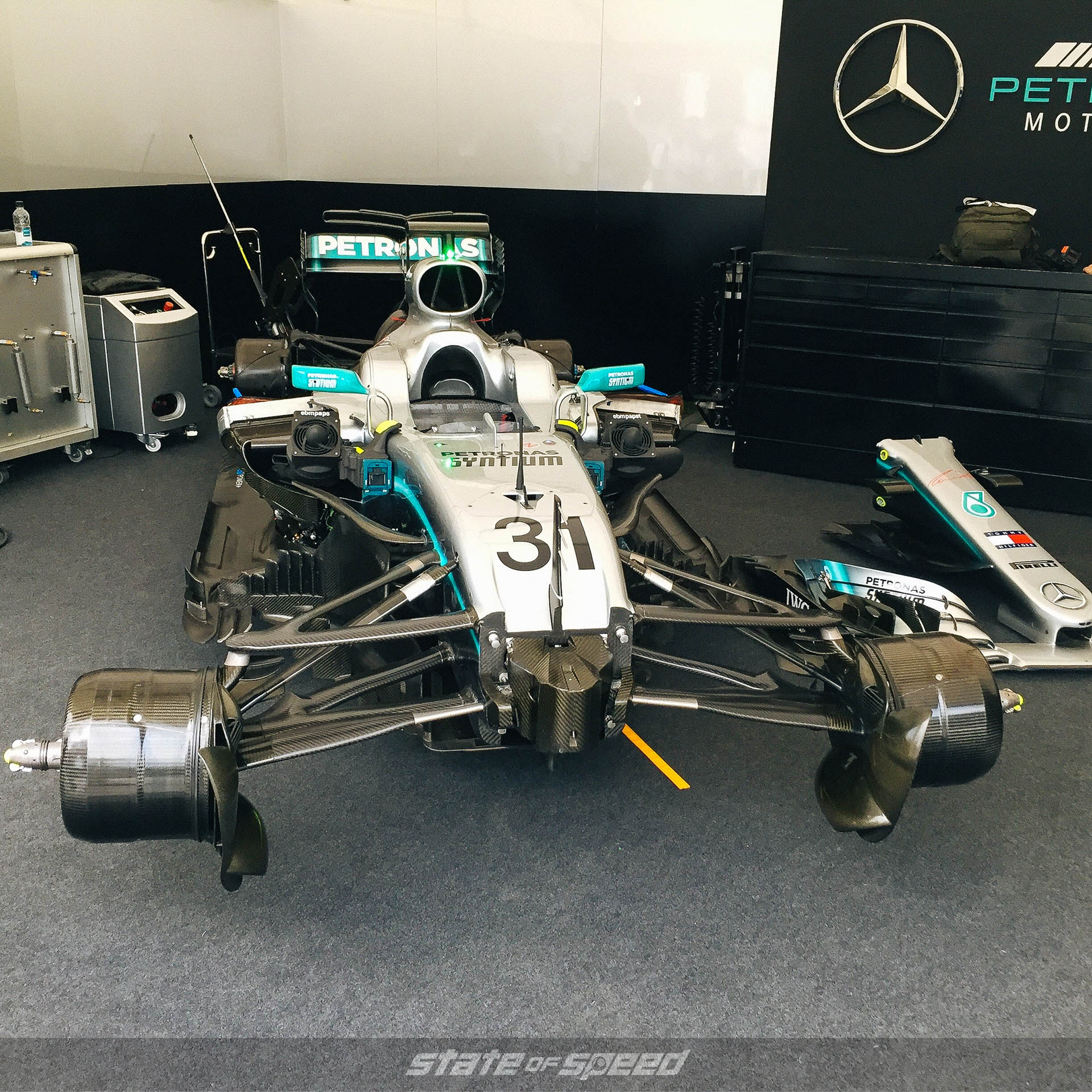 Mercedes F1 Team at Goodwood festival of speed