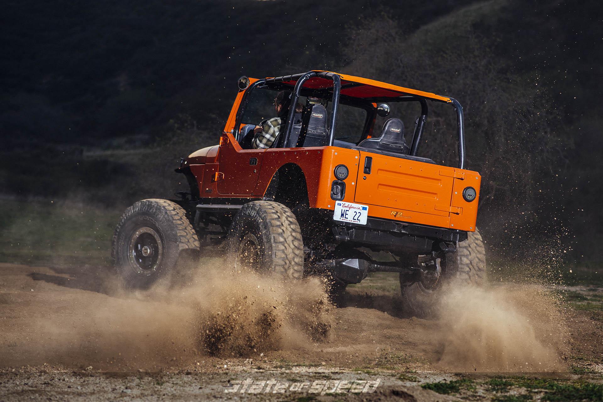 "40"" Milestar Patagonia M/Ts on Jeep YJ Wrangler"