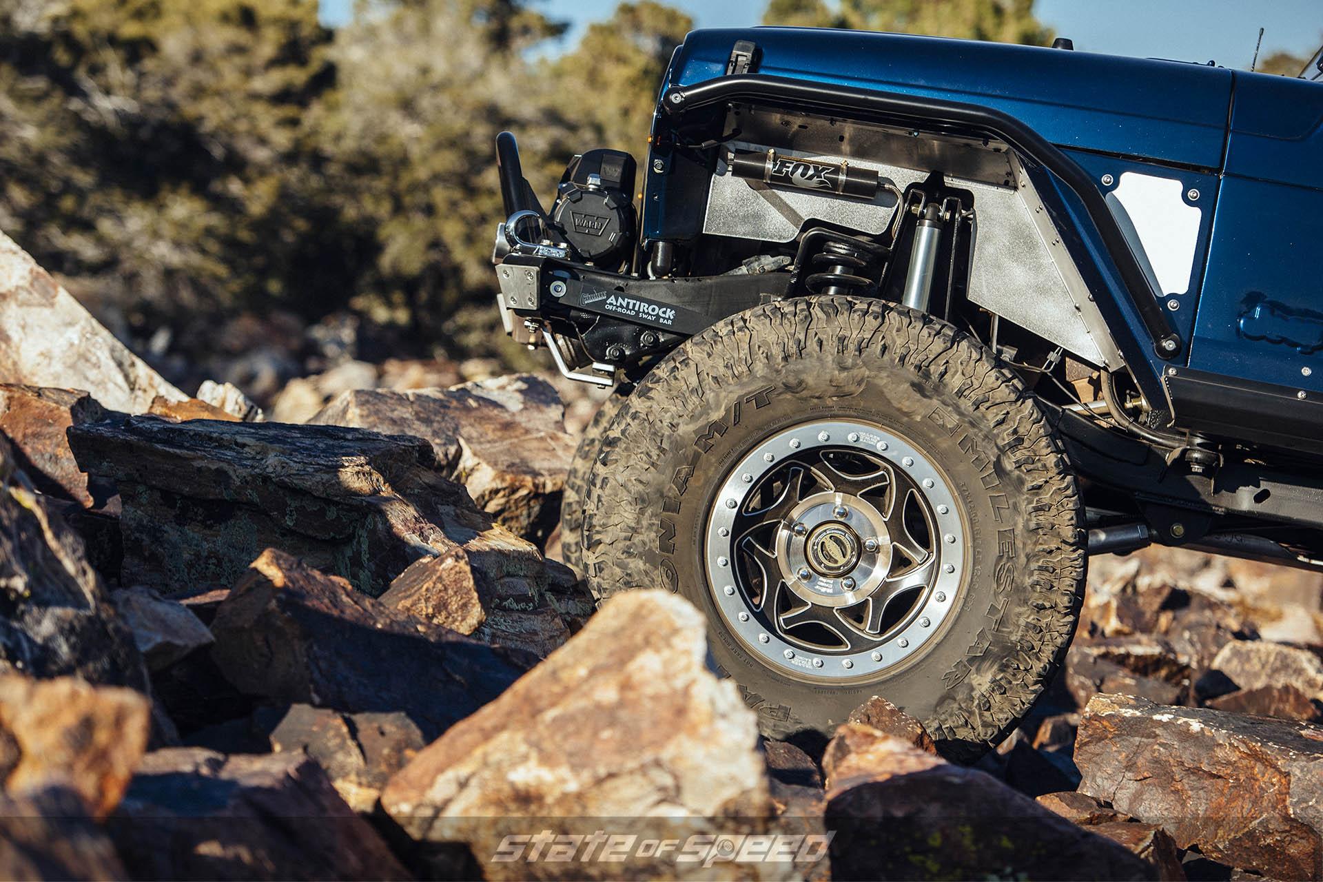 Jeep LJ Wrangler with Milestar Patagonia M/Ts