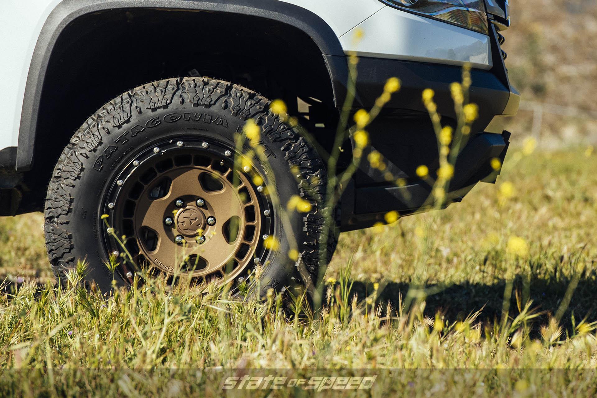 Milestar Patagonia M/Ts on Fifteen52 wheels on Toyota 4Runner