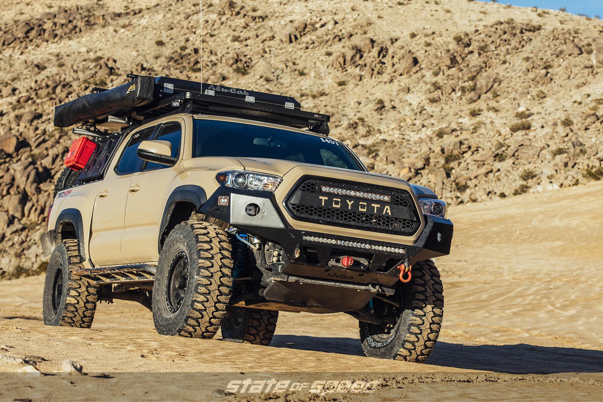 Toyota Tacoma with Milestar Patagonia M/Ts and beadlocks