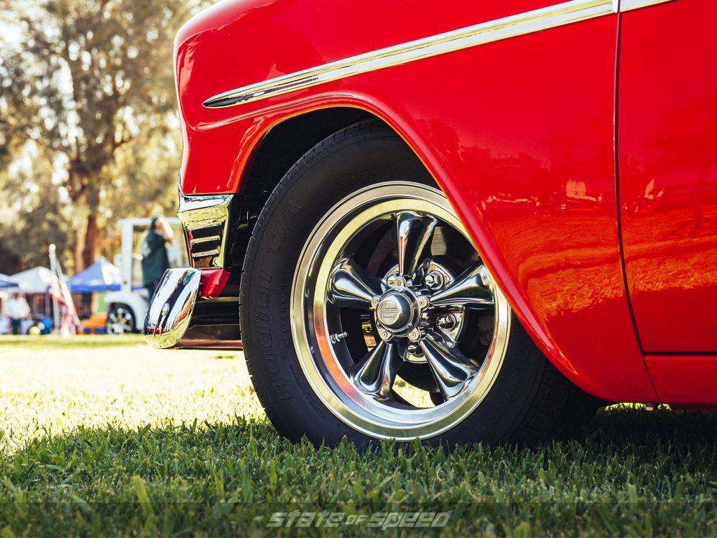 Bel Air on American Racing Torq Thrust Cast Wheels