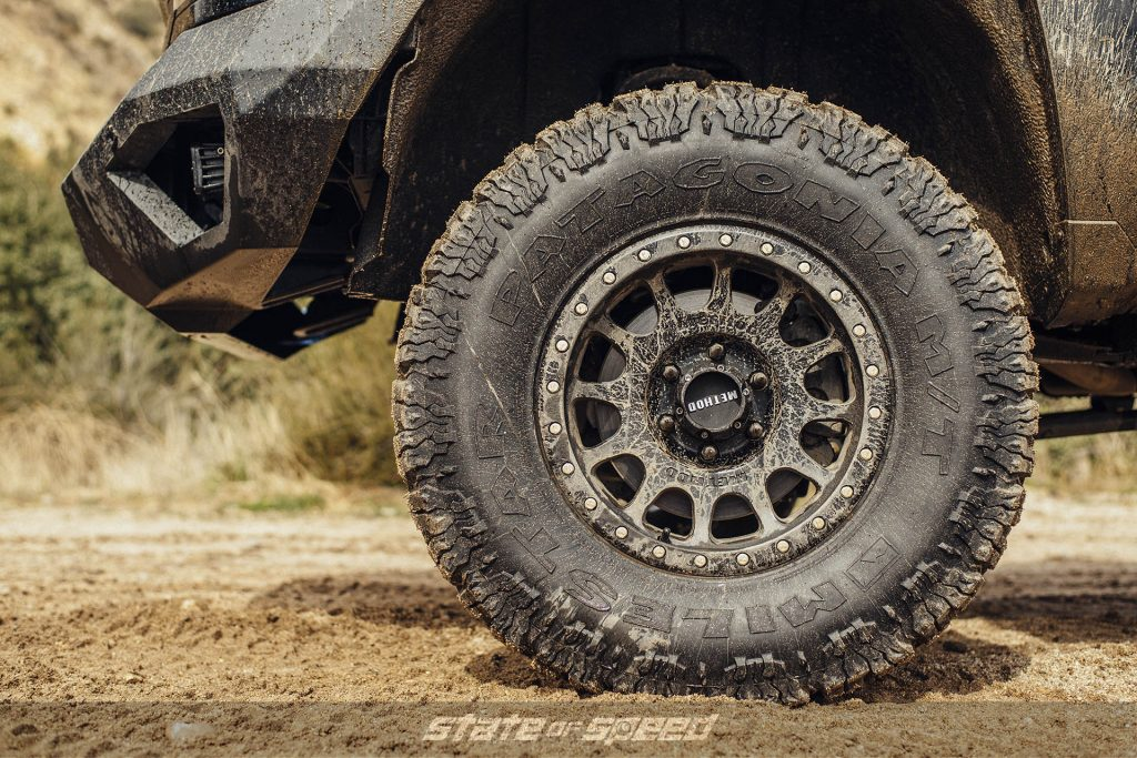 Silverado with Method 305 NV Cast Wheels and Milestar Patagonia M/T Tires