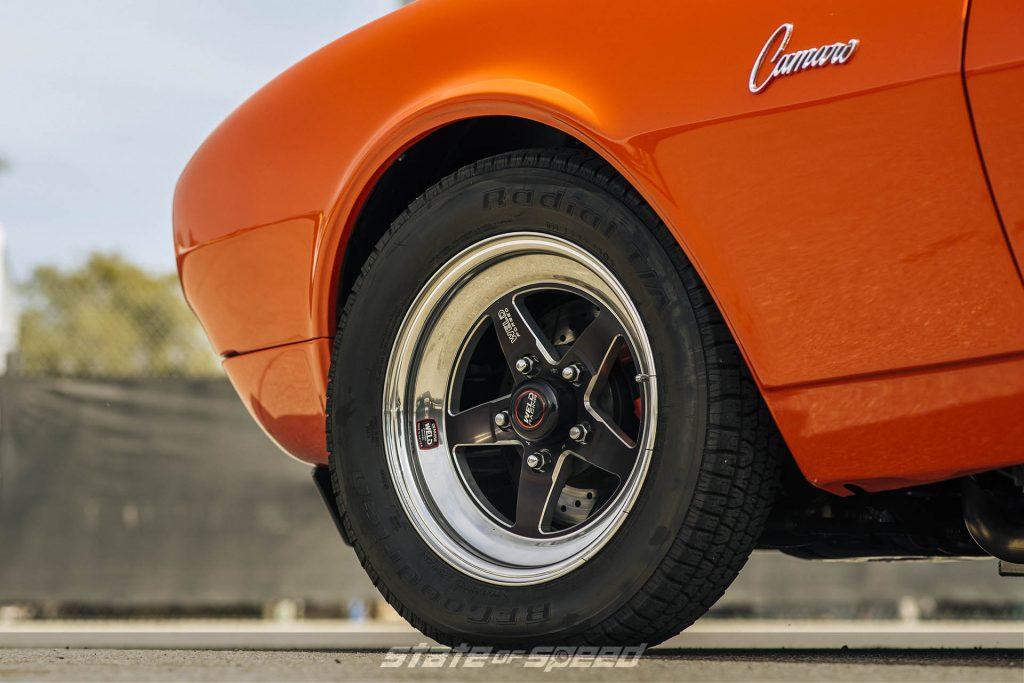 1968 Camaro on Weld S71 Forged wheels
