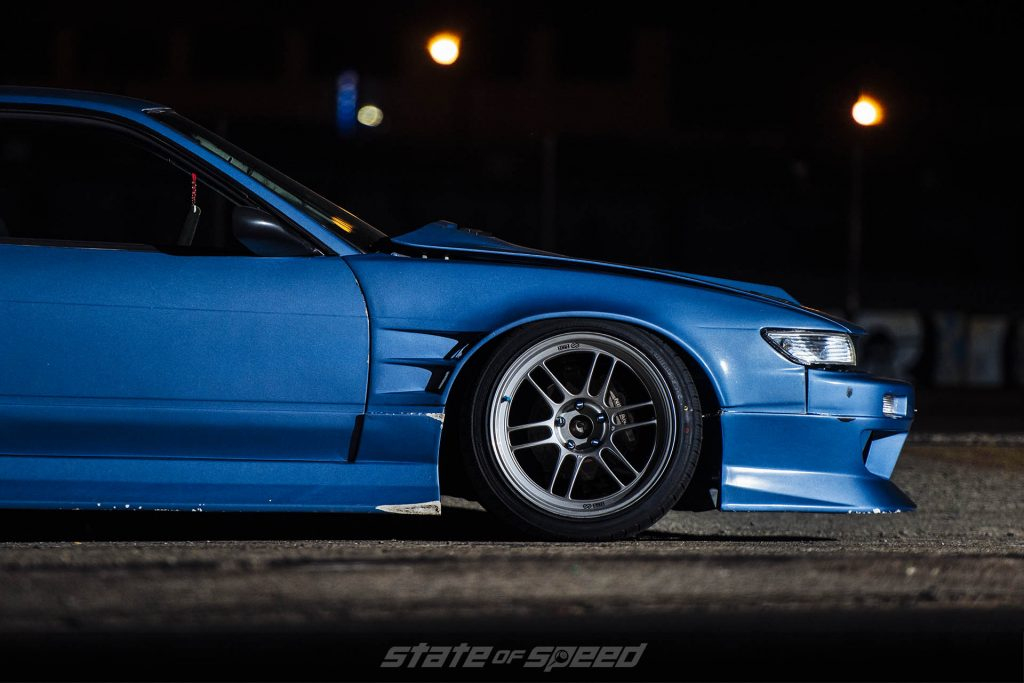 S14 on Enkei RPF1 Flow Formed wheels and Milestar XP+ tires