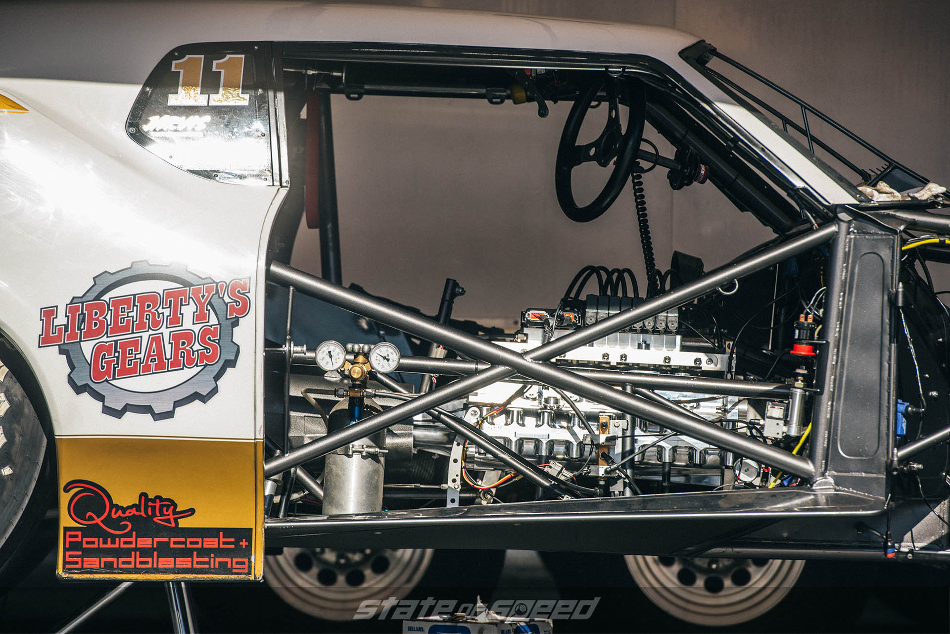 Rollbar for dragster