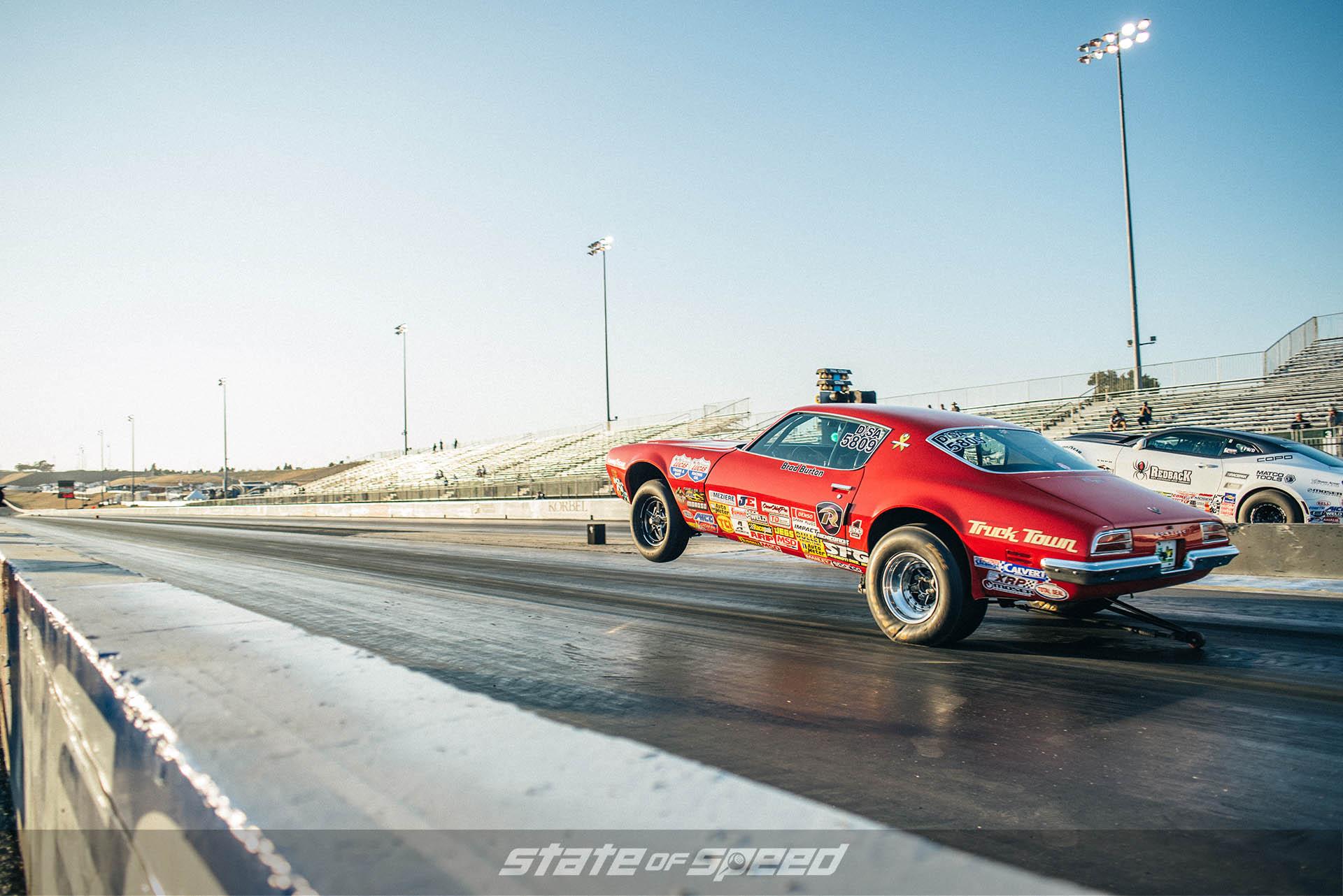 Racing down the dragstrip