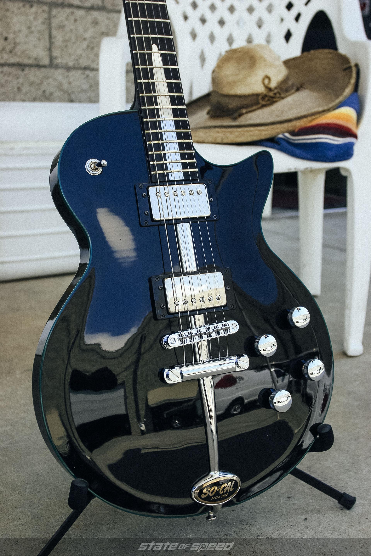 Billy F Gibbons Mexican Blackbird guitar