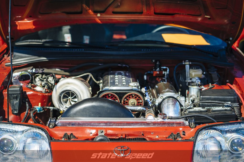 Supra A70 engine with turbo