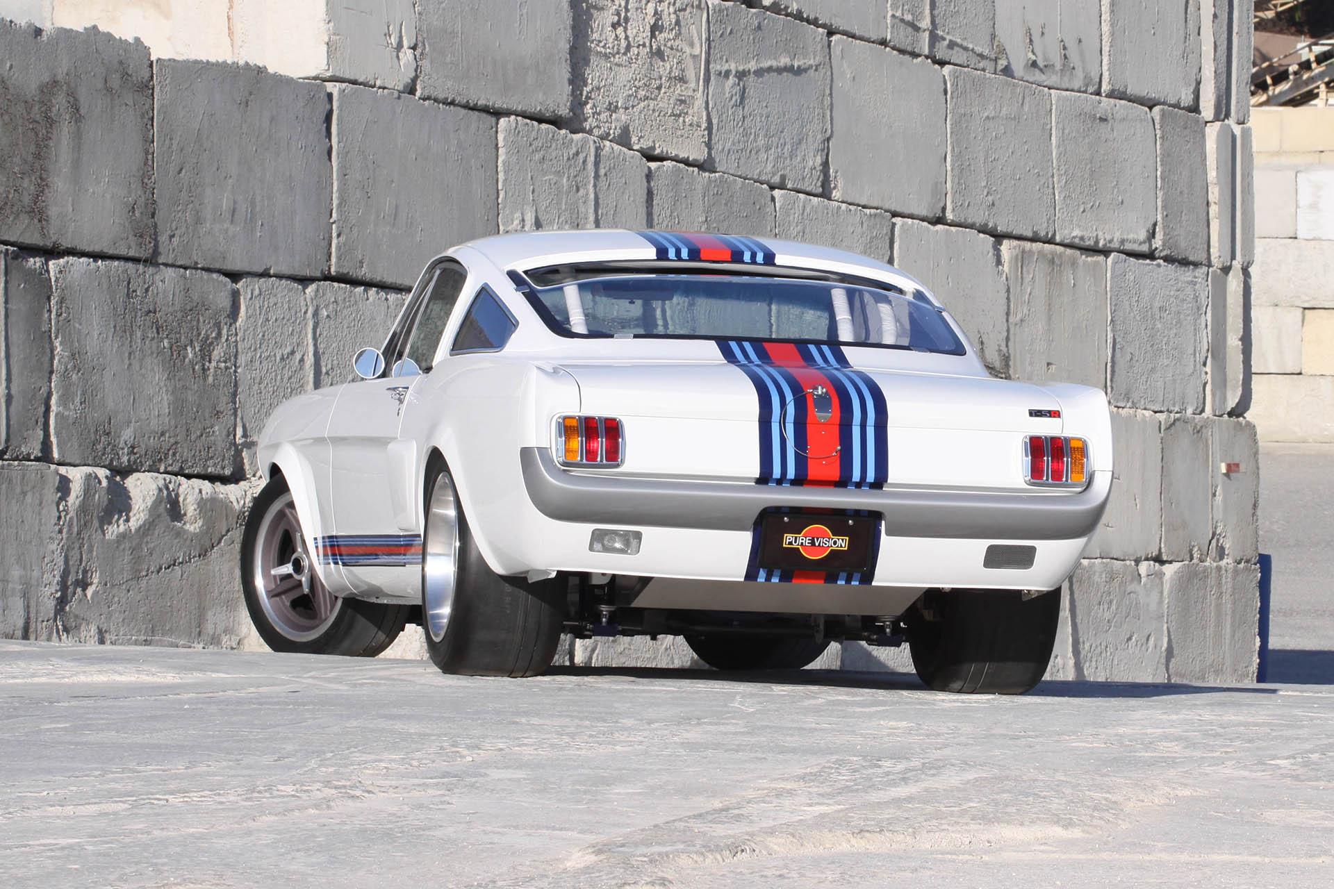 Martini Mustang rear
