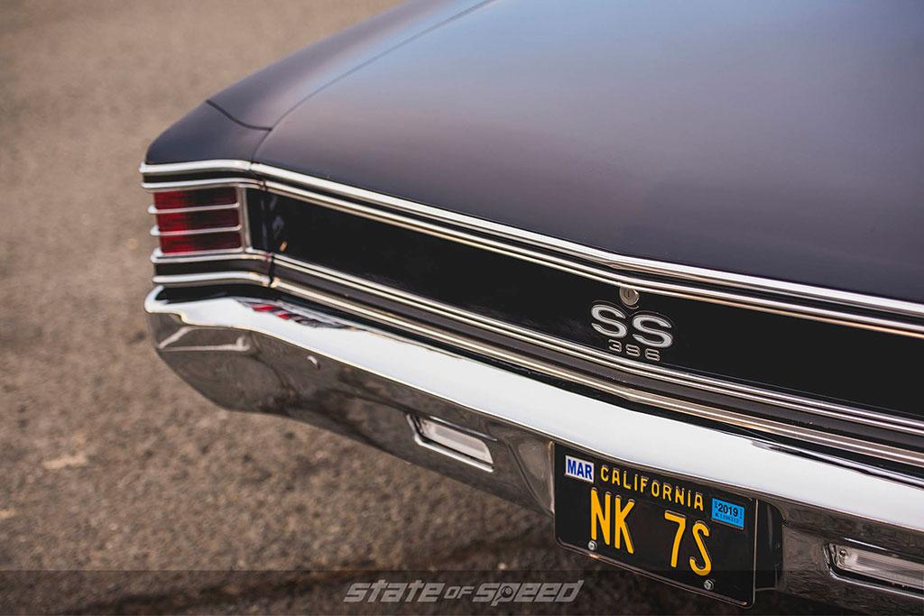Chevelle SS 396 model