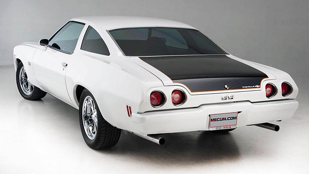White gen 3 chevelle