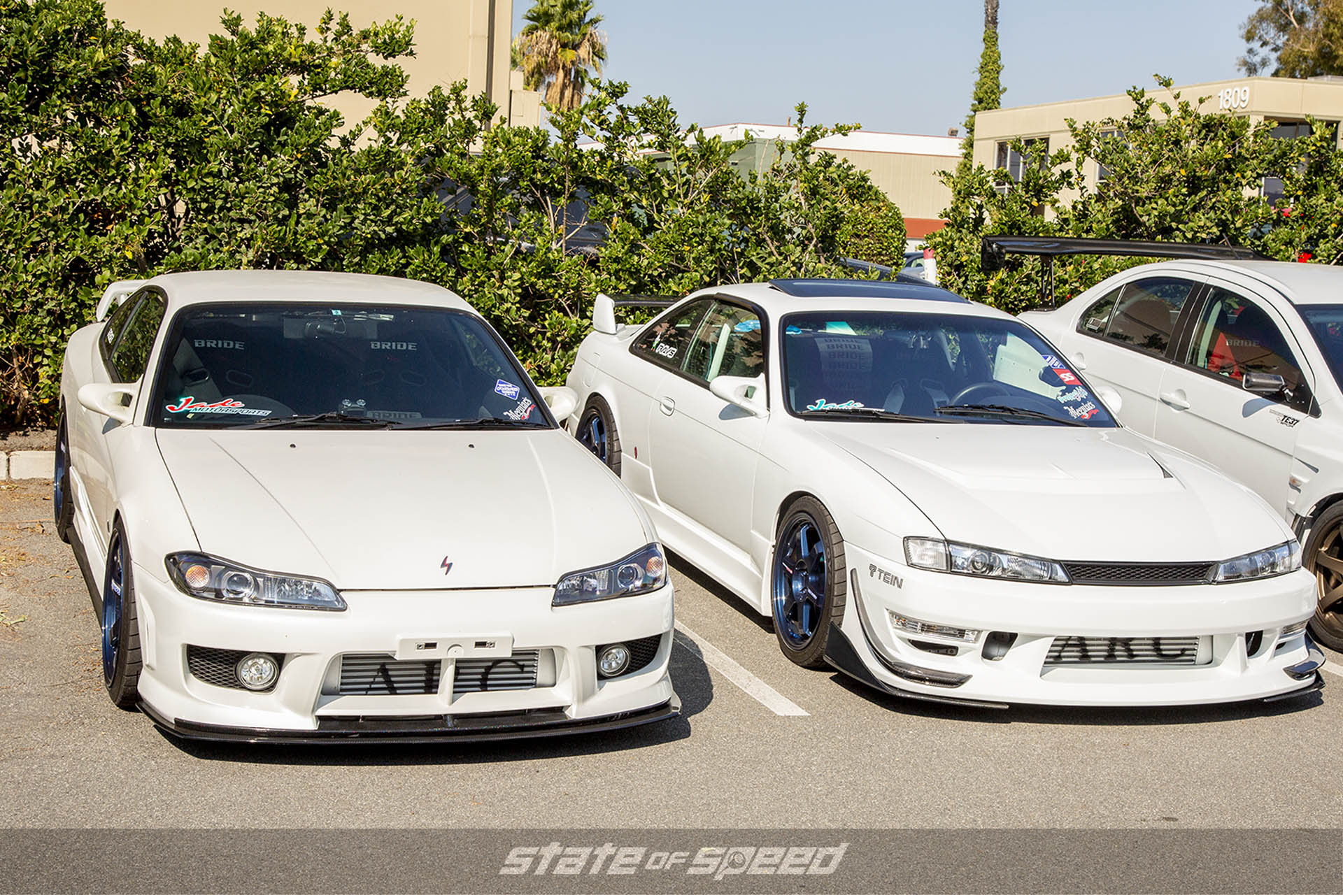 S15 and S14 at a meet