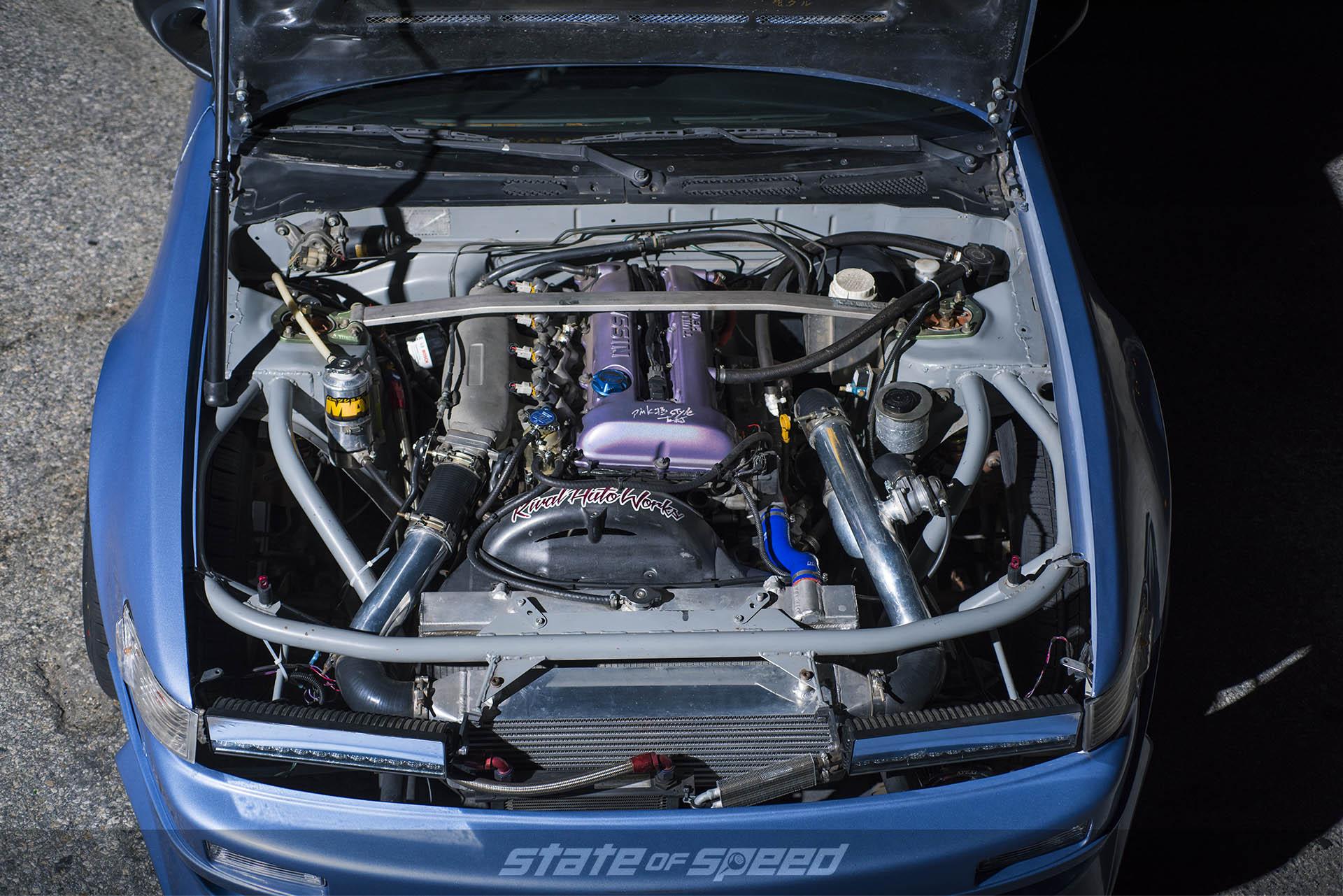 SR20 DET engine in a 240sx