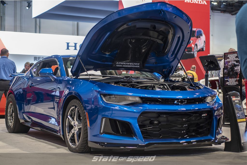 Custom Camaro at SEMA