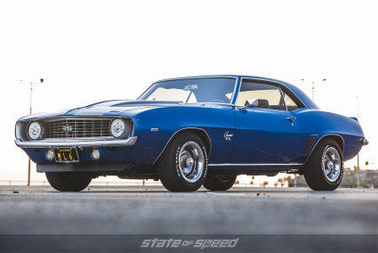 Blue 69' Camaro