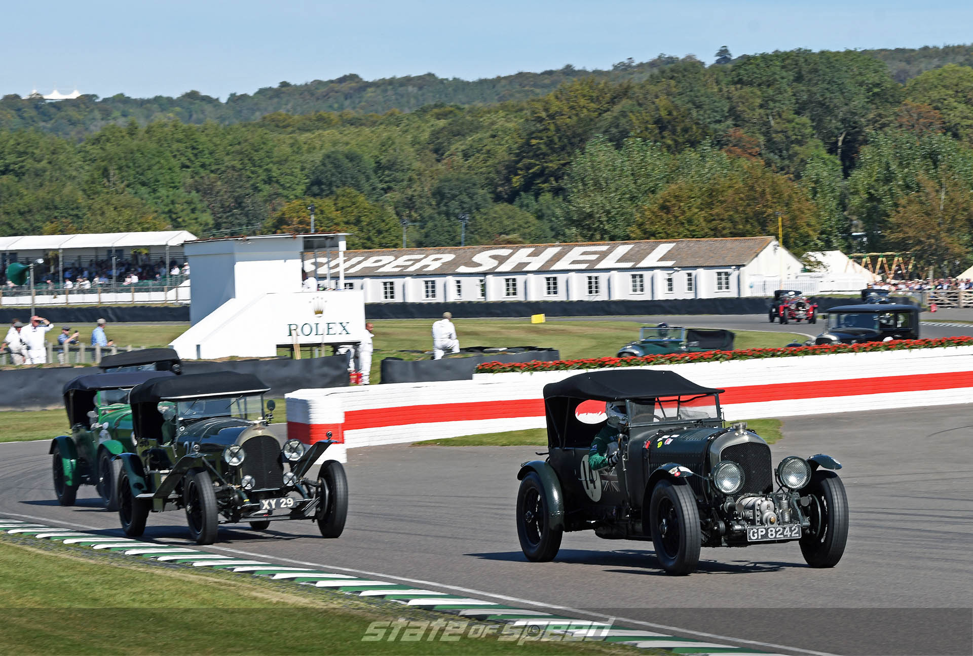 Pre-war Bentley racing