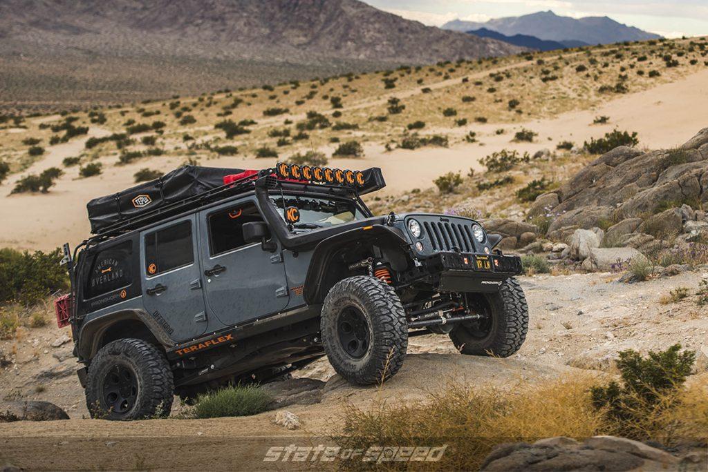 Jeep JK off-road