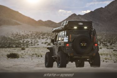 Grey Overland style Jeep