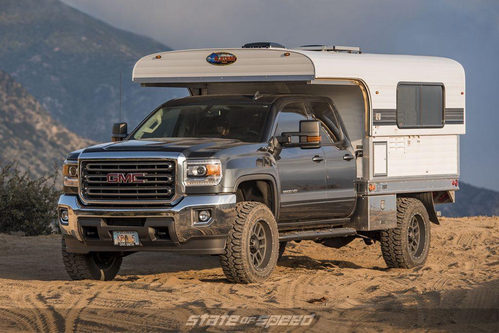 GMC Overland camper