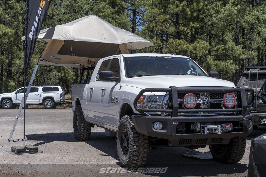 Milestar Overlander with rooftop tent