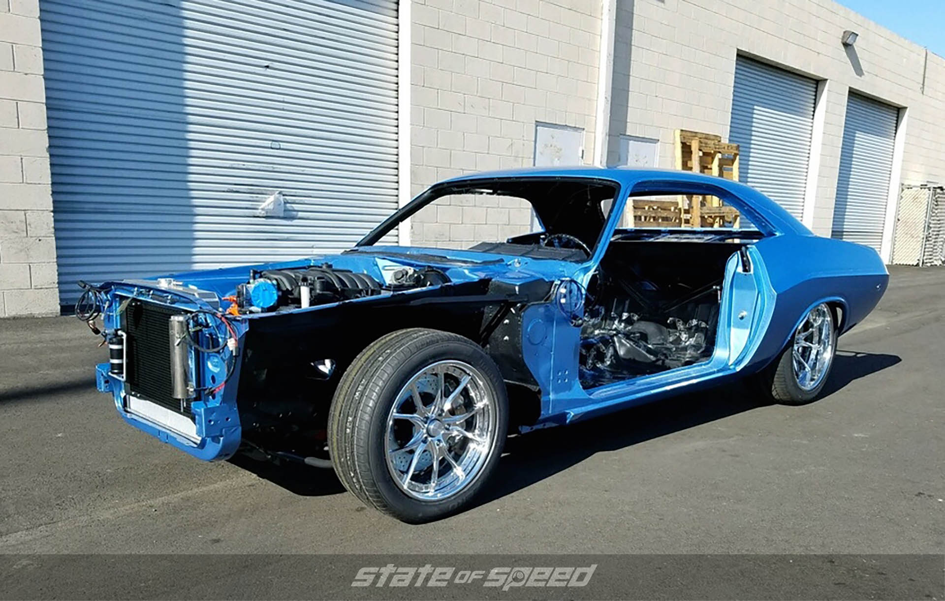'73 Charles Schwab Challenger Build