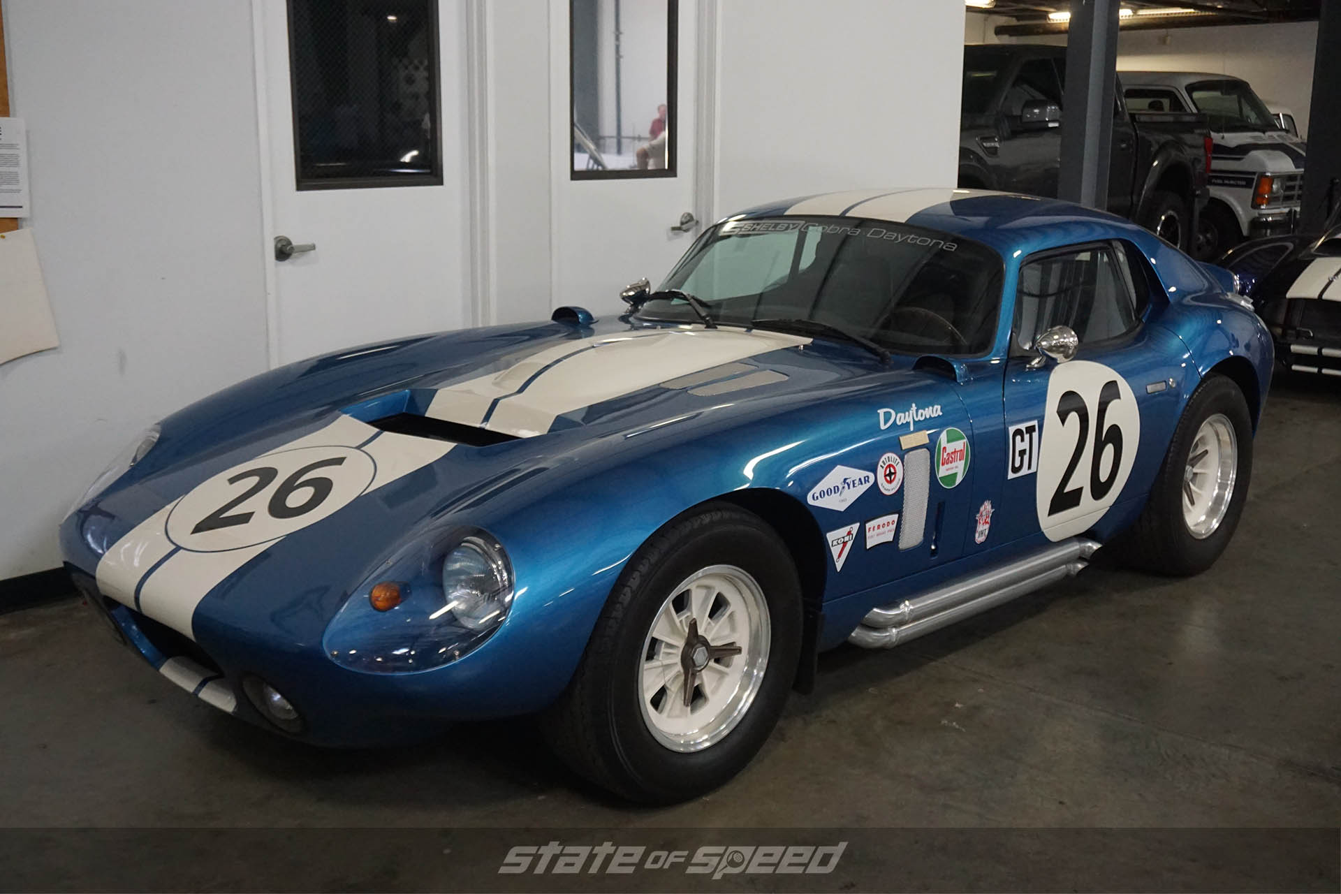 Cobra Daytona at the 21st Shelby American Reunion