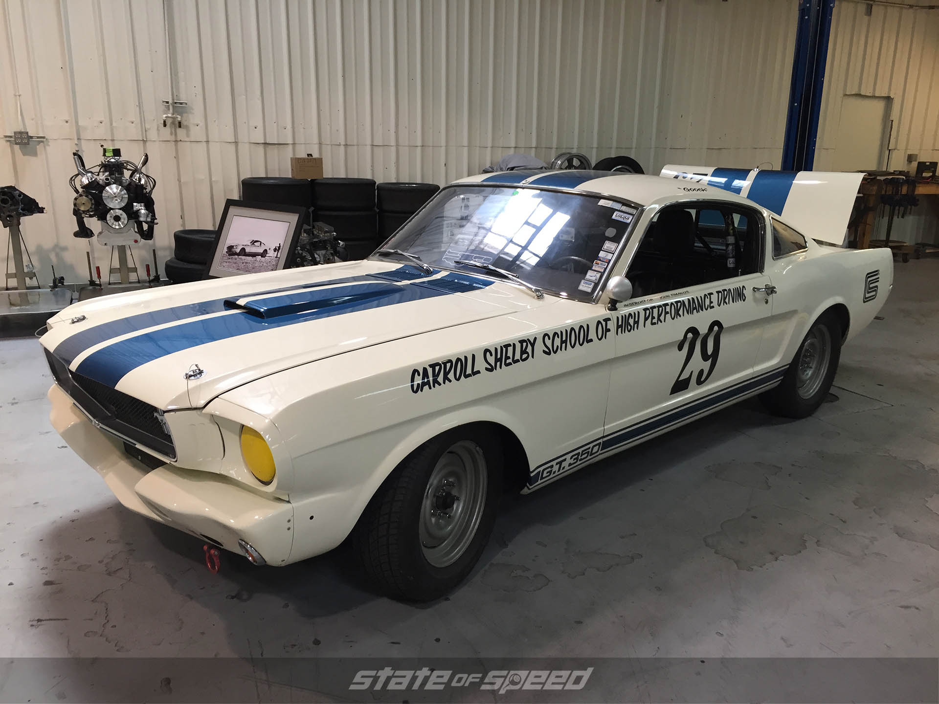Carroll Shelby School of High Performance Driving GT350