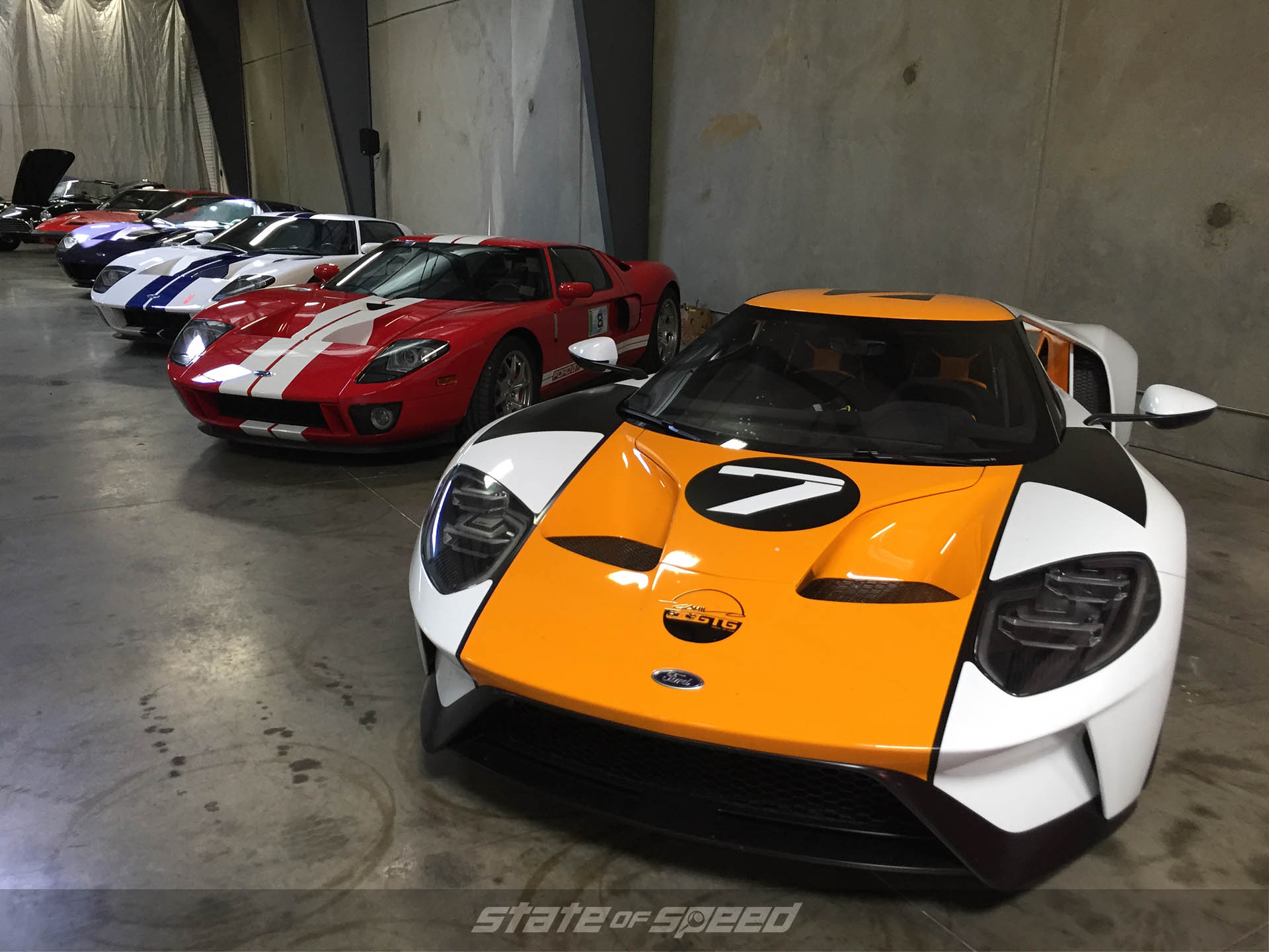 GT40s at the 21st Shelby American Reunion