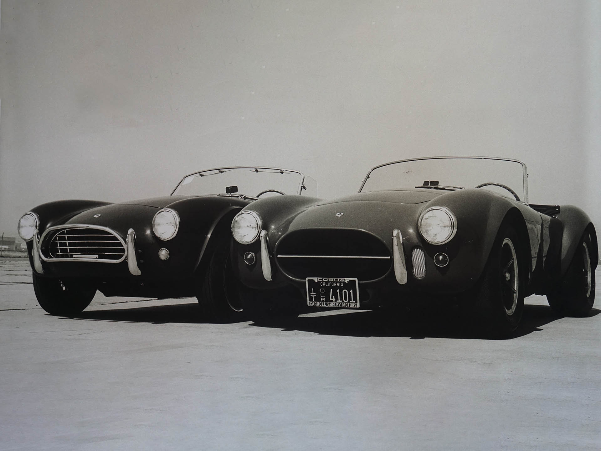 2 original Shelby cobras