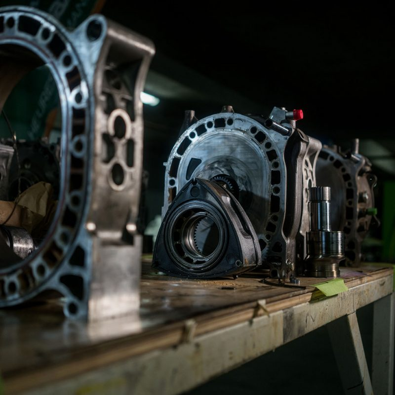 Mazda Rotary engine components