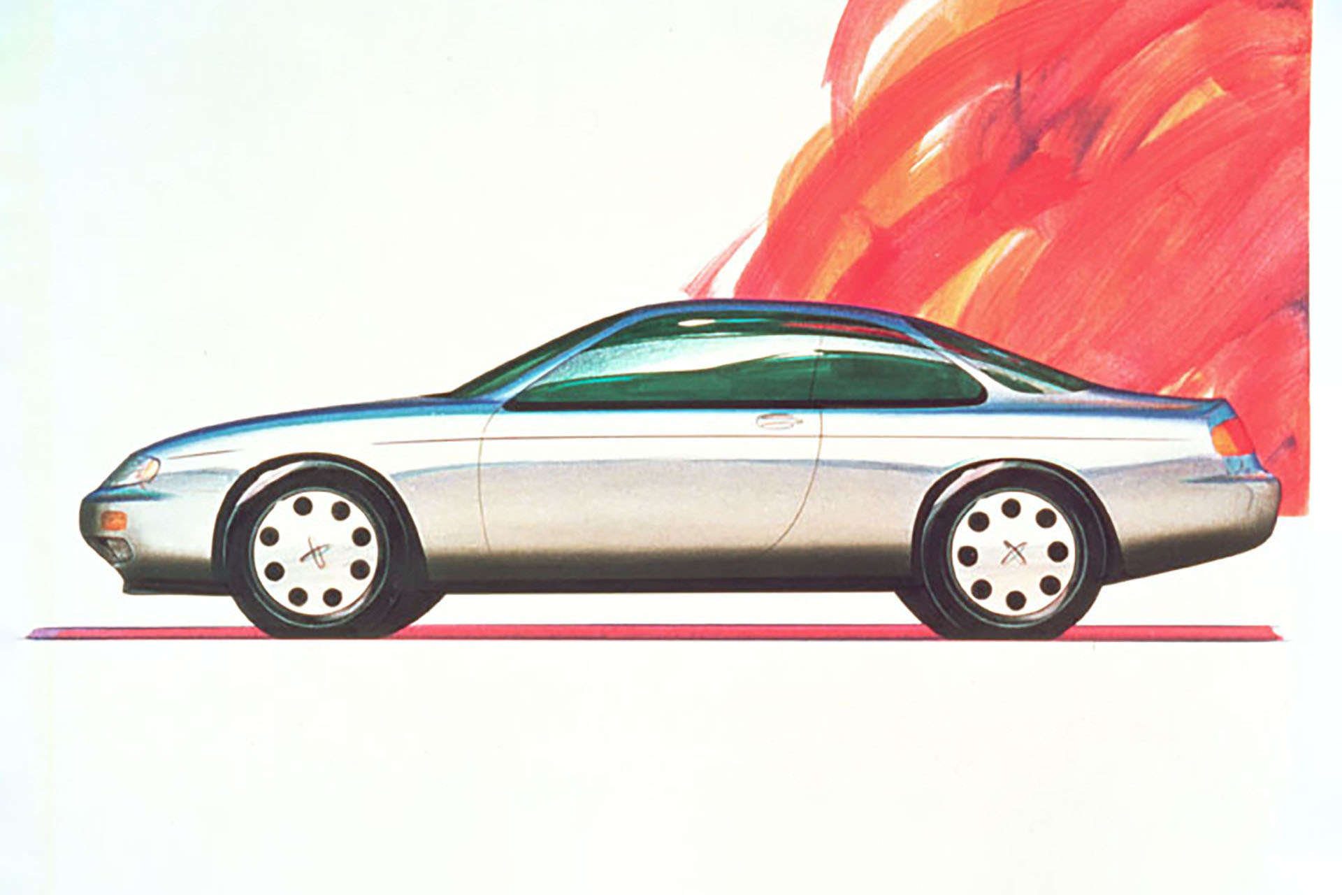 Nissan concept drawing