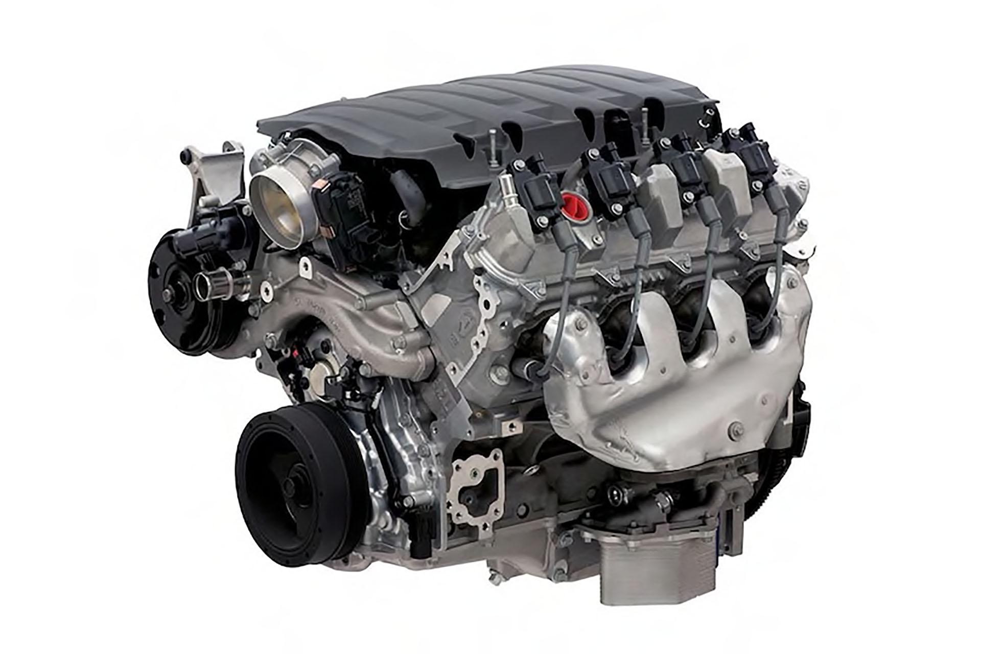 LT1 Chevy small block V8 Engine